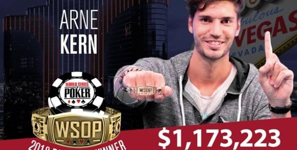 WSOP – Rimonta da sogno per Arne Kern nel Millionaire Maker! McKeehen chiude terzo