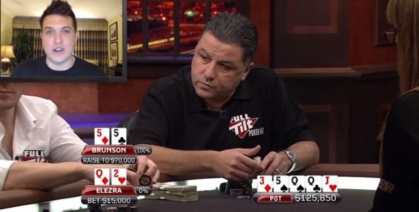 Doug Polk analizza uno storico colpo tra Eli Elezra e Doyle Brunson al Poker After Dark!