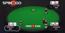 Replay a carte scoperte: lo Spin&Go da 300.000€ vinto da Fabrizio 'I'llPlayUOut' Falzei
