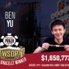 WSOP – Speranza vola nel The Closer, Kanit chiude 13° nell'High Roller! Braccialetti per Hastings e Yu