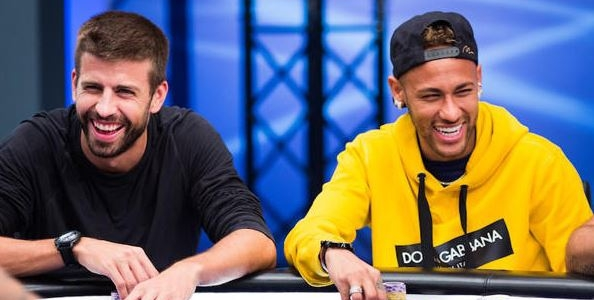 André Akkari batte l'amico Neymar JR. nel sit di beneficenza all'EPT di Barcellona