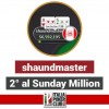 Si qualifica con un satellite da 7.50$, arriva secondo al Sunday Million: che impresa per 'shaundmaster'!