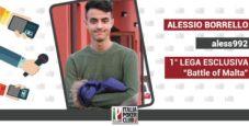 """Il giovane Alessio 'ales992' Borrello vince il primo step verso Malta: """"Che grande occasione!"""""""