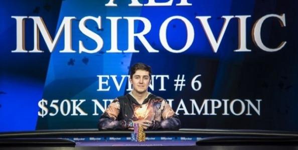 Che impresa per Ali Imsirovic! Vince due tornei consecutivi dei Poker Masters e 1.261.000$