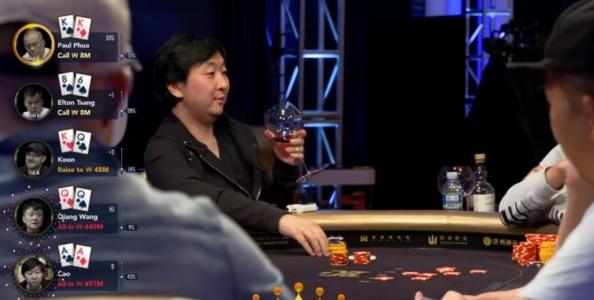 Short Deck Insanity – Assi contro Kappa contro Dame per un pot da oltre un milione di dollari!