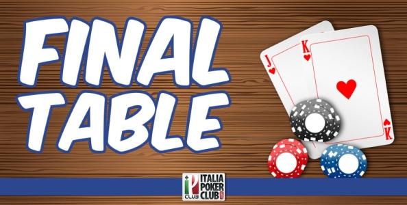 Quali fattori bisogna tenere in considerazione quando si affronta un tavolo finale?