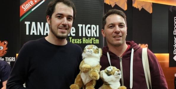 """Due fratelli al tavolo finale del Tana delle Tigri: """"La passione per il poker ci ha uniti"""""""