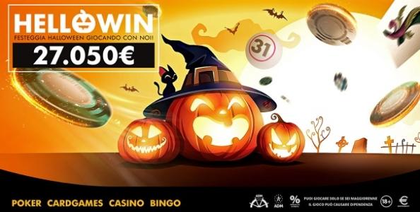 La promo HelloWin regala un dolcetto agli appassionati di ogni gioco nella notte di halloween