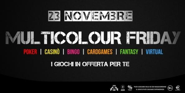 Sarà un venerdì colorato su Microgame con 6.000€ garantiti per i pokeristi nel Red Friday