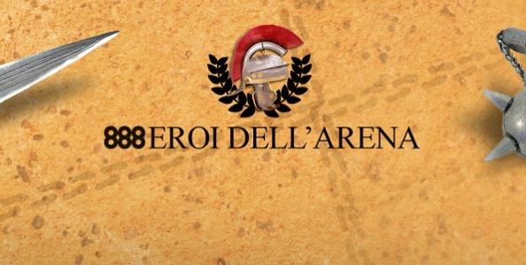 Vuoi diventare l'eroe dell'arena? Qualificati su 888poker al Main Event da 50.000€ garantiti