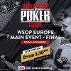 Segui il Tavolo Finale del Main Event WSOP Europe in diretta streaming!
