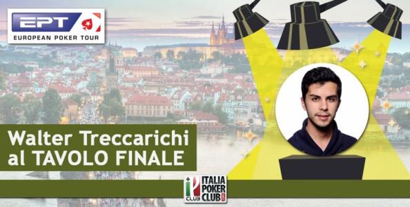 Social Blog Live – Segui qui Walter Treccarichi al tavolo finale dell'EPT National di Praga