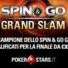 """Su PokerStars arriva lo """"Spin&Go Grand Slam"""": il campione potrà vincere fino a 55.000€ bonus!"""