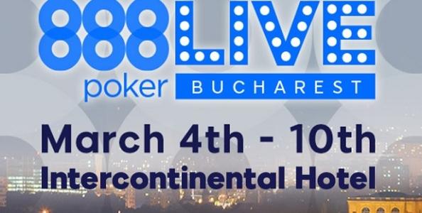 Segui la diretta streaming del Final Day 888Live Bucarest!