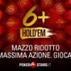 Il 6+Hold'em è online nella lobby di PokerStars!
