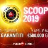 Cinque schedule per lo SCOOP di PokerStars