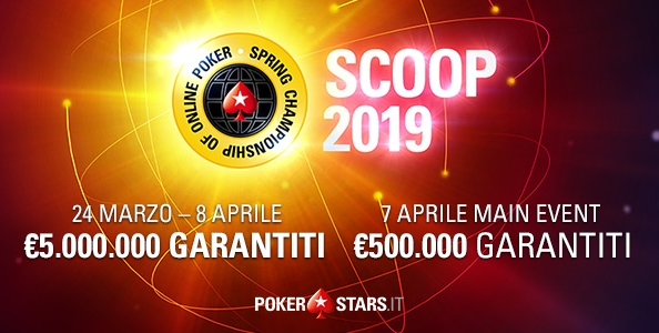 Cinque schedule per lo SCOOP di PokerStars