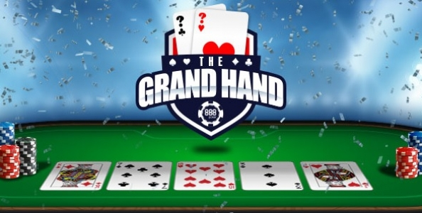 Grand Hand Weekend Edition: vinci fino a 3.000€ extra su 888poker!