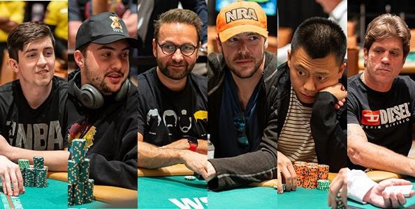 Chi sono gli avversari di Daniel Negreanu al Tavolo Finale del 10.000$ Super Turbo Bounty WSOP?