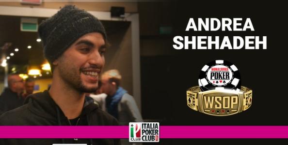 La prima volta a Las Vegas di Andrea Shehadeh: sono eccitato per le WSOP e voglio il bracciale