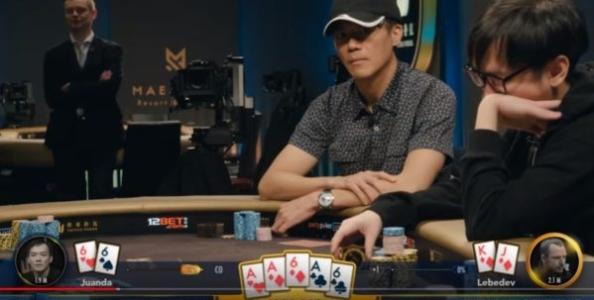 Il clamoroso poker foldato da John Juanda: scelta giusta o sbagliata? (video)