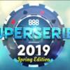 Su 888poker arriva la Spring Edition SuperSeries con 29 esaltanti tornei!