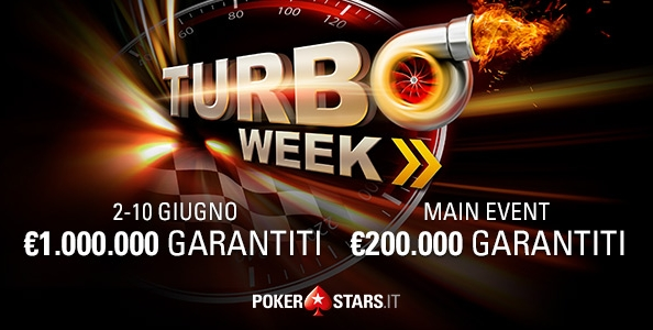 Turbo Week – I grafici e le statistiche dei finalisti del Main Event