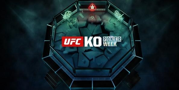 Parte la UFC KO Poker Week di PokerStars, dal 23 giugno 30 eventi per oltre un milione di garantito