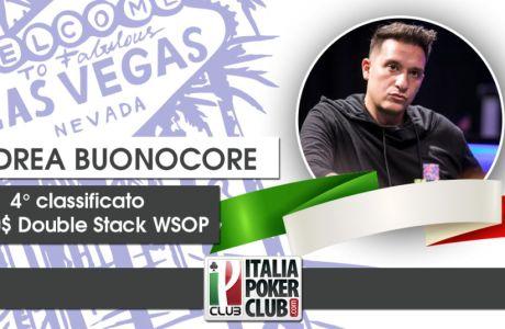 La strategia che ha permesso ad Andrea Buonocore di arrivare quarto al Double Stack WSOP