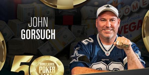 John Gorsuch vince il Millie Maker delle WSOP! Braccialetti anche per Boukai e Donabedian