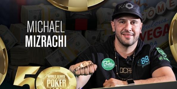 Quinto braccialetto alle WSOP per Michael Mizrachi! Esulta anche Stephen Song