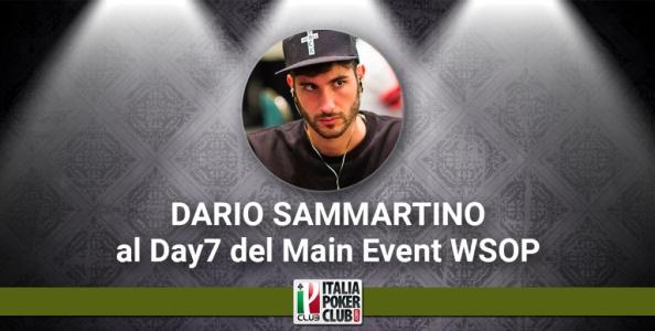Blog Live – Dario Sammartino al Day7 del Main Event WSOP!