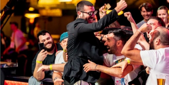 Dario Sammartino è già nella storia: domani giocherà per il braccialetto assieme a Ensan e Livingston!