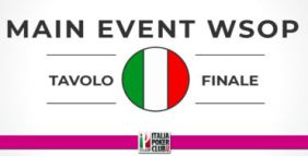 Chi sono gli italiani che hanno giocato il tavolo finale del Main Event WSOP?
