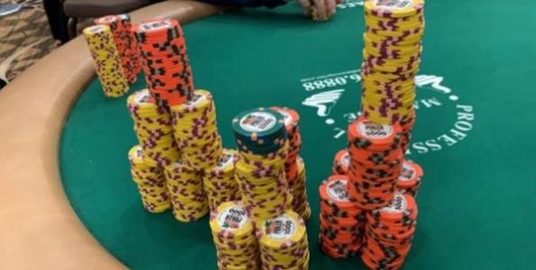 Alle WSOP in zona bolla, sorridono gli short stack: il gioco aggressivo non paga