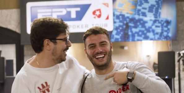 Federico Petruzzelli e un triplo check-call contro Lex Veldhuis al Day1 del Main Event EPT di Barcellona