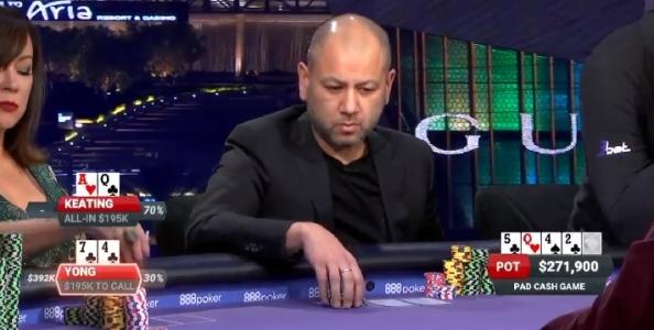 Rob Yong spiega un call senza paura contro Keating al Poker After Dark