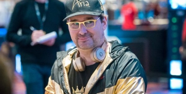 Hero call di Phil Hellmuth al Bike e poi si scatena dopo la mano