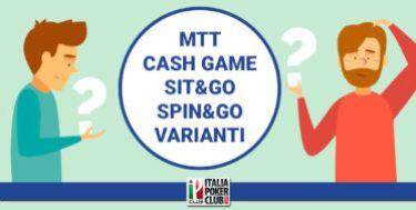 Che specialità di poker scegliere?