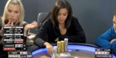 Che bluff di Francisco nel cash game! Kitty Kuo passa Q-Q in un 4-bettato