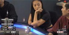 Il poker è davvero un bel gioco quando floppi quads e l'avversario ha i mostri