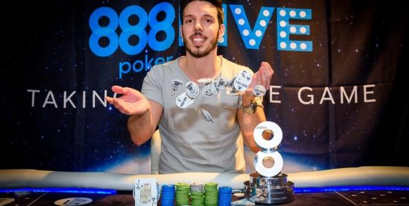 Leonardo leoele07 Mancuso vince l'High Roller dell'888Live Madrid, è il suo primo sigillo live!