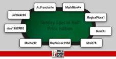 I grafici e le statistiche dei finalisti del Sunday Special Half Price Edition!