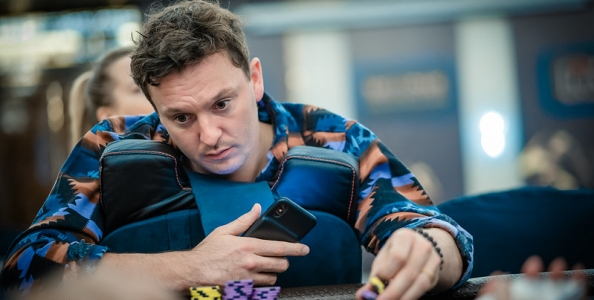 Dwan va all in e Sam Trickett pensa di chiamare con 9 high