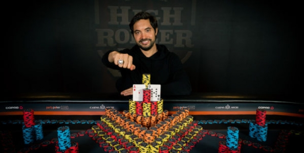 Tim Adams nella storia: fa back to back a Sochi nel Super High Roller Bowl