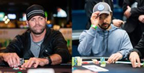 Guerra di kicker con raise flop e 3barrel: Adams vs Van Blarcum 5 left al SHR Bowl