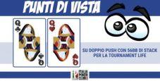 Punti di vista mtt – Coppia di Donne con 56bb di stack su doppio push: si gioca per la tournament life?