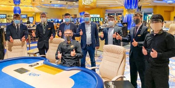Il Kings Casino riapre i battenti: ecco le partite in programma e le regole da seguire