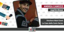 Andrea Camozzi racconta il primo major domenicale messo in bacheca