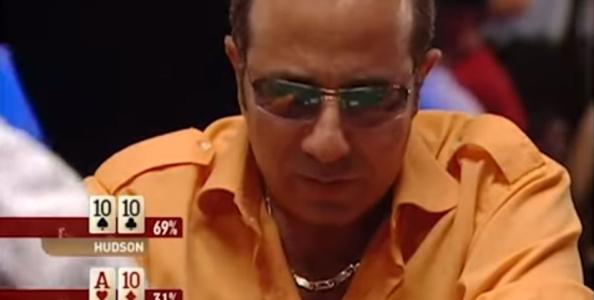Quando il Main Event dura una sola mano: Farha vs Hudson, WSOP 2005